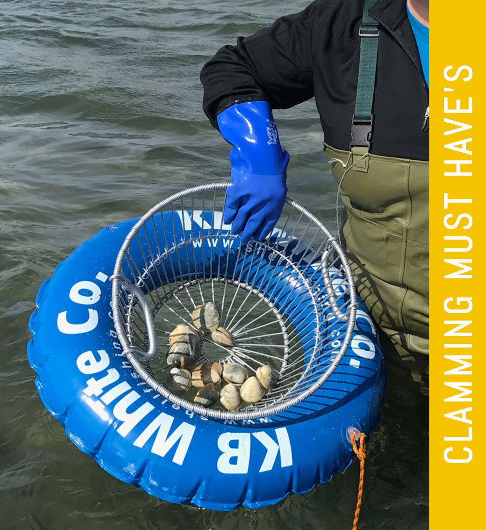 Professional shellfishing gear from KB White Co