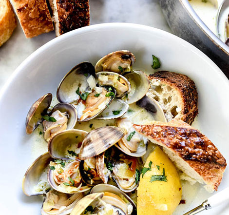 Delicious shellfish recipes