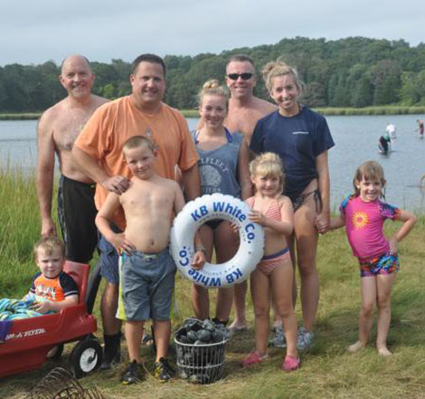 Weekend clamming is a great family activity
